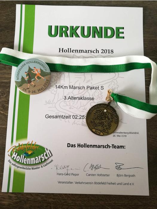 Hollenmarsch Bödefeld Sauerland 2018