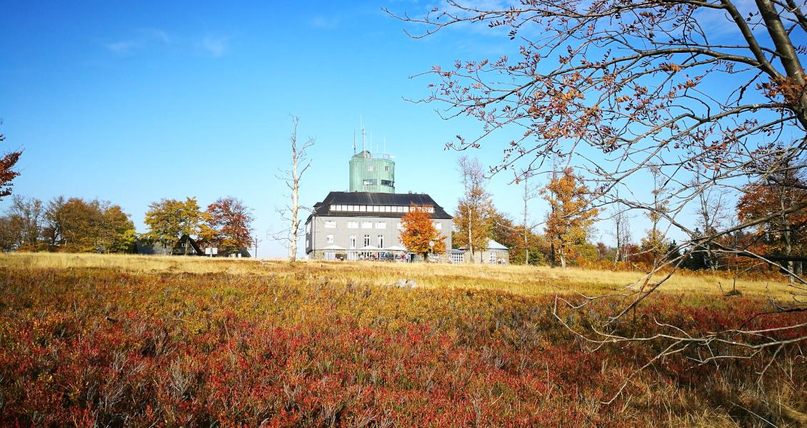 Herbstliches Farbenspiel am Kahlen Asten